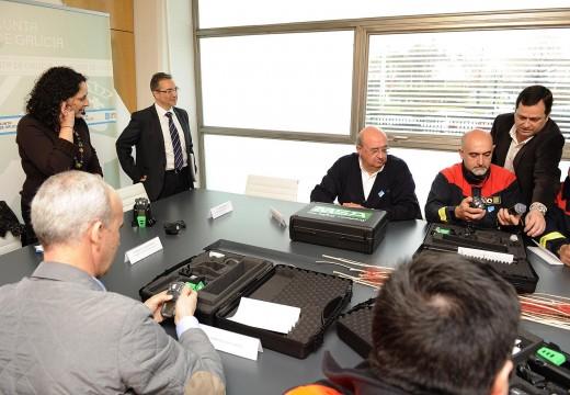 A Xunta de Galicia destina máis de 1,5 millóns de euros a renovar o equipamento das agrupacións de voluntarios de Protección Civil dos concellos da provincia da Coruña