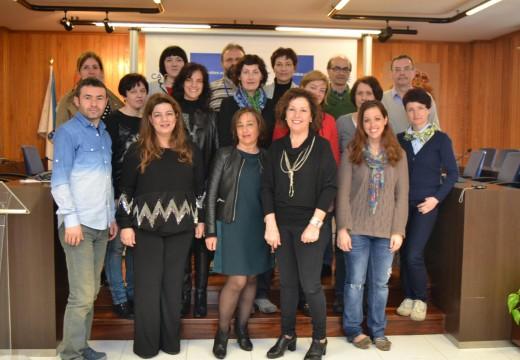 Cambre recibíu 14 docentes europeos dentro dun proxecto educativo coordinado polo IES David Buján