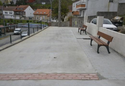 Concluiron as obras de pavimentación e renovación de servizos na rúa Dos Remedios