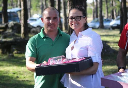 O ferrolán Edelmiro Leira proclámase vencedor da sétima edición do Campionato de Caza San Huberto 'Cidade de Riveira'