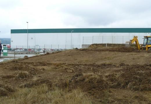 O Concello de Oroso inicia a construción do punto de reciclaxe 'Oroso Verde'
