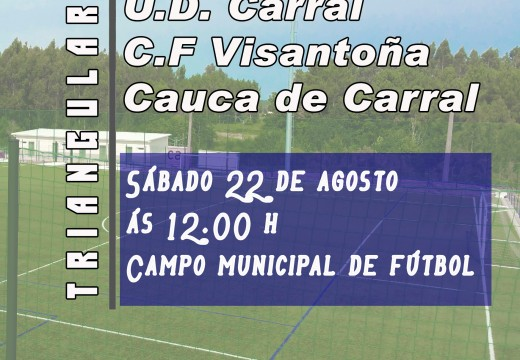 O fútbol carralés homenaxea a Borja Rodríguez Ans