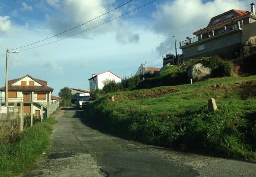 Adxudicación provisional da pavimentación de tres rúas da localidade de Palmeira