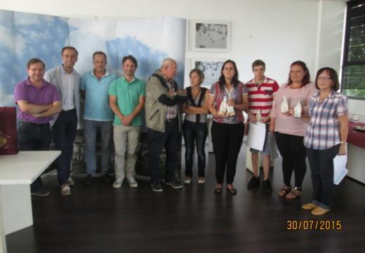 Acto de entrega de Premios do Concurso de Tapas Concello de Fene