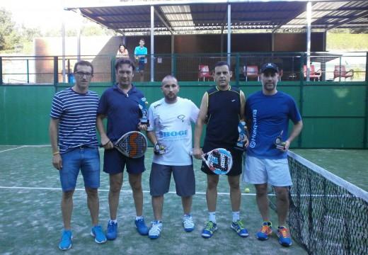 Manuel Rey e José Viqueira gañan o VII Torneo de Pádel do Concello de Frades