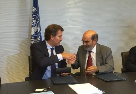A Xunta asina un memorando coa FAO para desenvolver proxectos de cooperación técnica e formativa no sector agrícola e pesqueiro en beneficio de países menos desenvolvidos