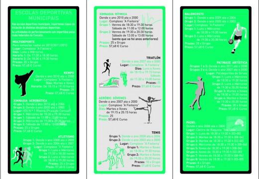 Incrición nas escolas deportivas municipais de inverno de Riveira, do 21 ao 30 de setembro