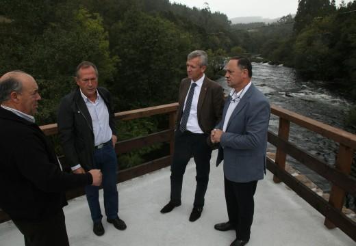 A Xunta destaca a aposta polos pequenos concellos e polo rural da orde de infraestruturas de uso público