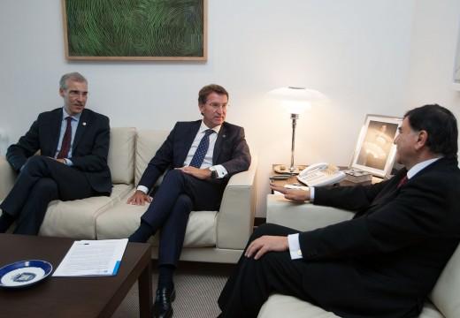 A Xunta reúne ao gobernador de Tlaxcala e á automoción galega para buscar oportunidades de negocio conxuntas