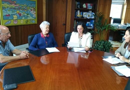 Belén do Campo reúnese cos representantes da Asociación Parkinson Galicia-Coruña para coñecer de primeira man as súas necesidades