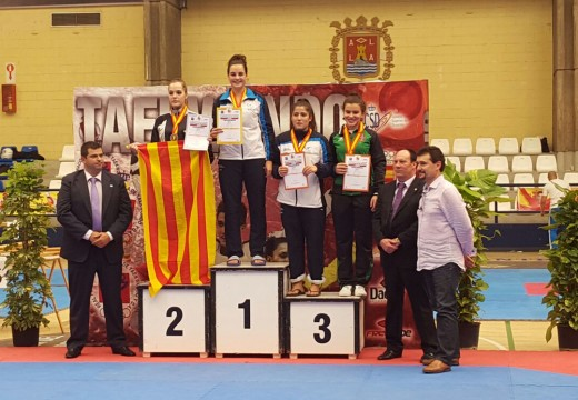 A ordense Ainhoa Ramos Manteiga, nova campioa nacional junior de Taekwondo