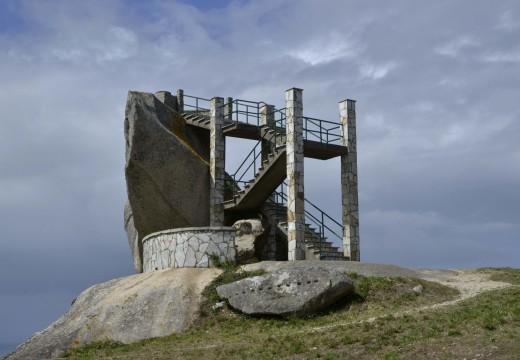 O Concello activa unha actuación para acondicionar o Miradoiro de Pedra da Ra