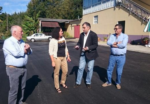 A Xunta de Galicia inviste preto de 245.000 euros na mellora dunha trintena de camiños rurais do concello de Oza-Cesuras