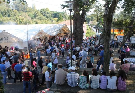 A Romaría de Santa Minia confirma todas as previsións e supera os 50.000 visitantes
