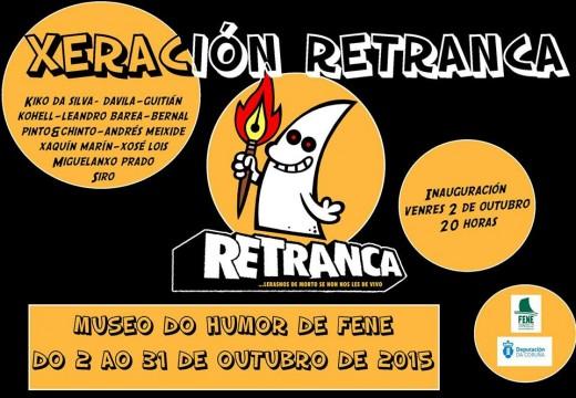 """O Museo do Humor de Fene acollerá en outubro a exposición de humor gráfico """"Xeración Retranca"""""""