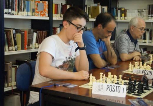 Daniel González Eirís, lévase o 6º Torneo de Xadrez de Verán