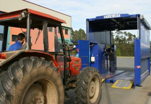 A ITV de vehículos agrícolas estará en Ordes e no Mesón do Vento a finais do vindeiro mes