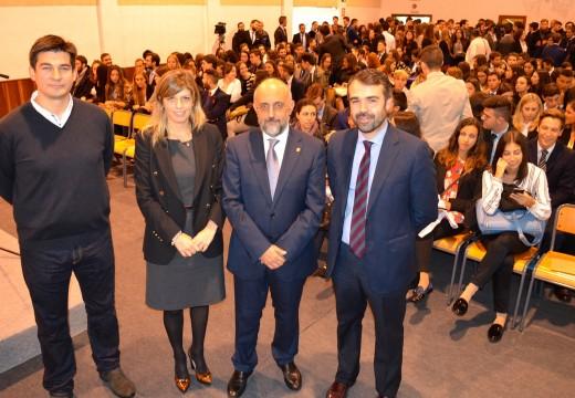 O Centro Superior de Hostalería de Galicia inaugura o curso 2015-2016 con 400 novos alumnos