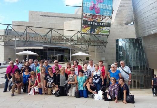 Unha trintena de maiores riveirenses acudiron á viaxe cultural ao País Vasco