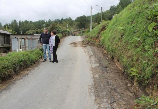 O Concello de Lousame investirá case 16.000 euros na reparación do camiño entre a aldea de Zaramagoso (Fruíme) e o límite con Boiro