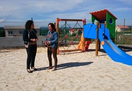 A Xunta destina máis de 36.000€ á ampliación, adecuación e mellora da rede de parques infantís en varias parroquias do concello de Carral