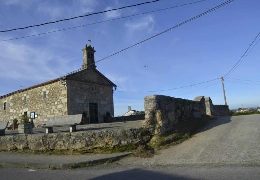 Luz verde á mellora da contorna da Capela da Guía cun investimento de 100.000€