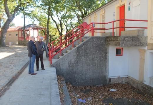 O Concello de Brión instalará unha varanda de seguridade na contorna da Casa da Cultura