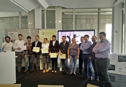 A AMTEGA concede o premio ao Mellor Proxecto Universitario con Licenza Libre 2015 a un aplicativo web de análise do comportamento humano en vídeos