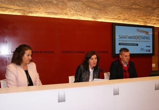 Turismo de Santiago e a Asociación Hostelería Compostela coorganizan por primeira vez Santiago(é)tapas