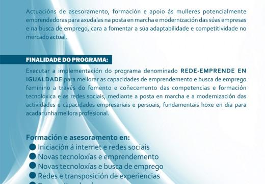 Ordes acollerá un curso de asesoramento, formación e apoio a mulleres emprendedoras