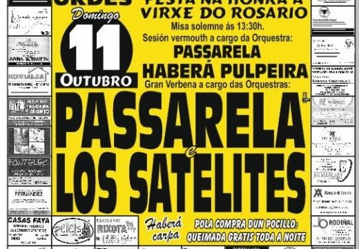 Festa do Rosario, este domingo en Santa Cruz de Montaos