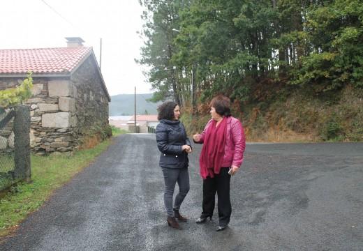 A Xunta inviste uns 103.000 euros na mellora de catro camiños rurais no concello de Lousame