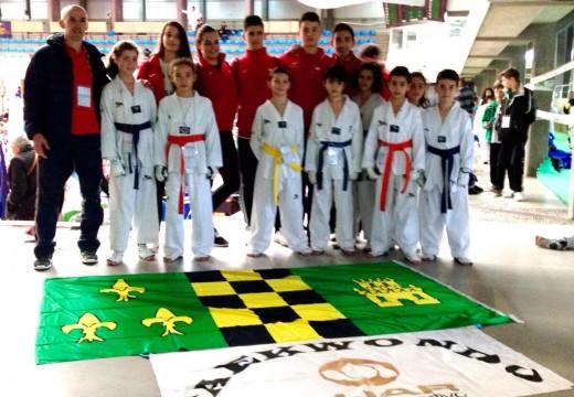 Cúmulo de medallas para o Club Luar no XVIII Campionato Internacional Cidade de Pontevedra