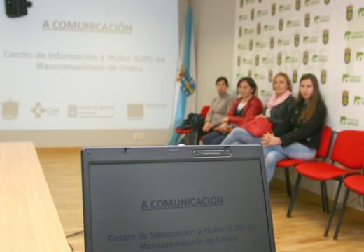 O CIM da Mancomunidade de Ordes analiza a importancia da comunicación no seu primeiro encontro temático