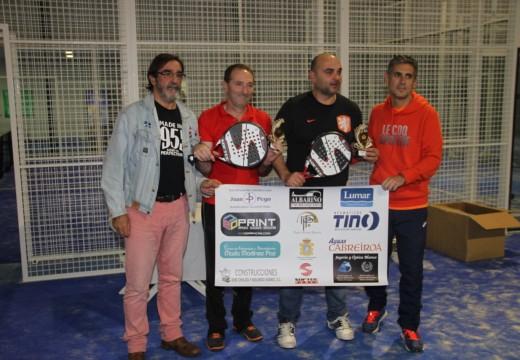 Resultados do Trofeo Presentación no Centro de Deportes de Raqueta de Coroso