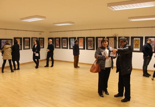 A Casa da Cultura de Lousame acolle ata o 9 de decembro unha exposición de 35 carteis feitos por Xosé Vizoso durante os últimos 44 anos