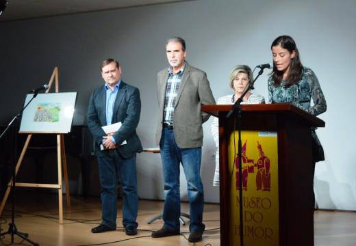 Curuxa do Humor para o debuxante Manuel Arriaga de León