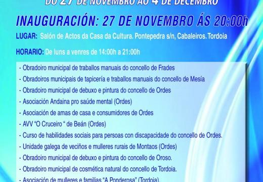 A Mancomunidade de Ordes inaugurará a final de mes a súa IX Mostra de Obradoiros Culturais