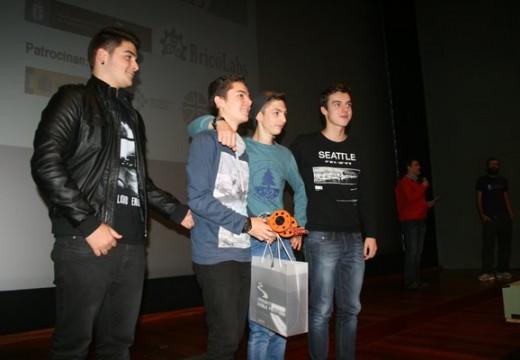 O alumnado do IES Brión consegue catro dos seis premios da Competición Escolar de Robótica OSHWDem 2015