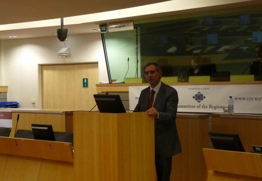 Galicia salienta en Bruxelas a importancia da cooperación transfronteiriza co norte de Portugal