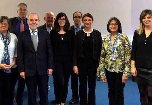 O Centro Superior de Hostalería de Galicia reúnese en Reino Unido coas universidades socias do Bachelor Europeo
