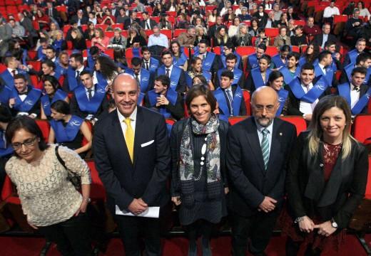 Nava Castro destaca o prestixio acadado polo Centro Superior de Hostelería de Galicia na súa cerimonia de graduación