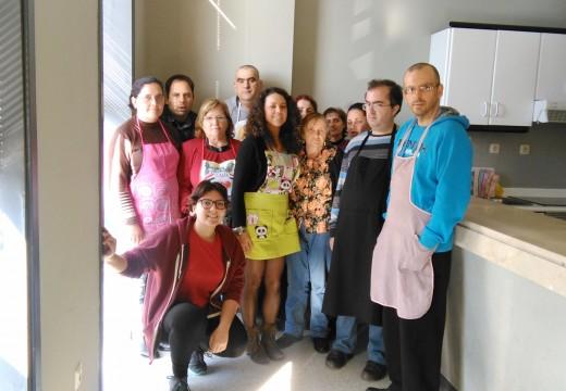 Novo curso de cociña de Andaina Pro Saúde Mental en colaboración co Concello de Ordes