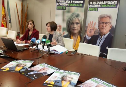 Julia Otero e Pepe Domingo Castaño porán rostro e voz á campaña da Xunta contra a violencia de xénero