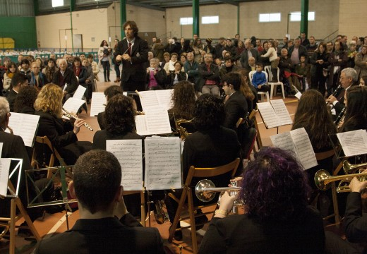 A asociación 'Amigos da Música de Ordes' honra á súa patrona Santa Cecilia