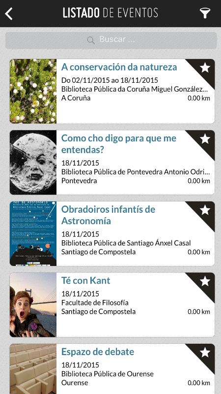 A Xunta publica unha aplicación coa axenda de cultura de Galicia
