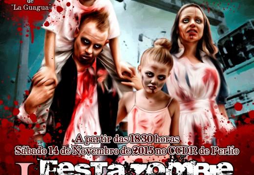 """Últimos días para anotarse no obradoiro de maquillaxe con feridas da """"I Festa Zombie do Samaín"""""""