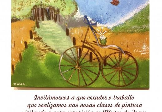 Andaina Pro Saúde Mental inaugura este venres a súa mostra de pintura no Museo do Traxe