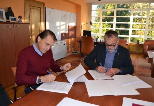 Cambre asina un convenio coa Asociación de Empresarios para a realización de accións de dinamización do tecido económico