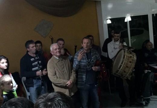 Os irmáns Ruibal reciben o recoñecemento popular na 55 edición das Noites de Tasca